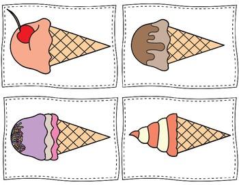 Speaking and Listening - Describe My Ice Cream! Using Details - ESL