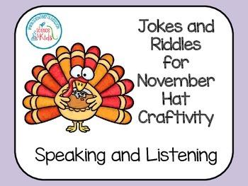 Speaking and Listening Jokes and Riddles for November