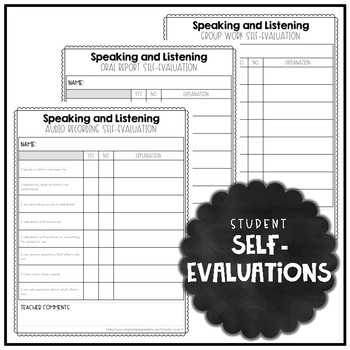 #fireworks2020 Speaking and Listening Rubrics {3-5} Common Core Aligned