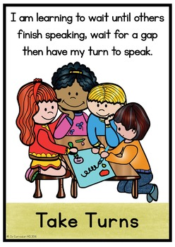 Speaking and Listening Skills Posters