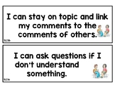 Speaking and Listening standards cards (grade 2)