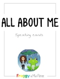 ALL ABOUT ME - Speaking cards