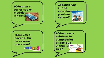 Speaking cards  (differentiated:  red, amber and green cards)