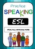 Speaking - introductions - FULL VERSION*** Printable