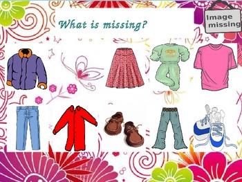 Speaking on clothing