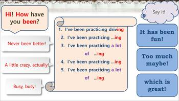 """Speaking practice: How to answer the question """"How have you been?"""""""