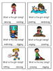 Speaking task cards - action verbs (ESL/ELL)