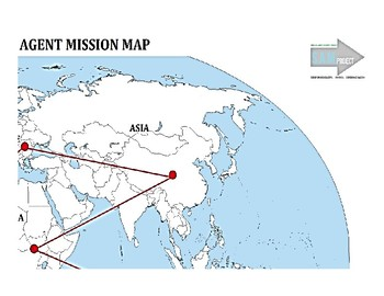 Special Agent Mission Project- mission map