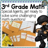 Special Agent Third Grade Math Review