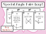 Special Angles Loop Activity