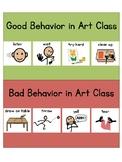 Special Area Behavior Charts