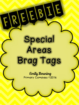Special Area Brag Tags