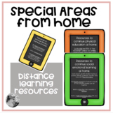 Special Areas from home