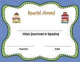 Special Award Certificate Template