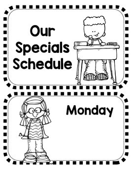 Special Class Schedule Display!  Melonheadz Edition!