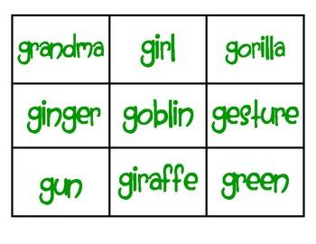 Special Consonants