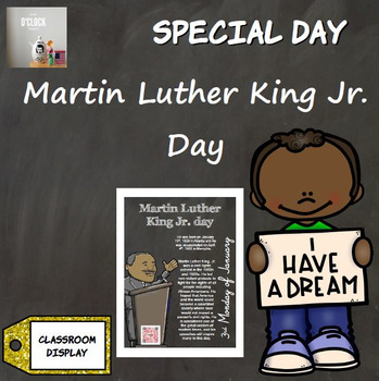 Special Day Poster - Martin Luther King Jr. day