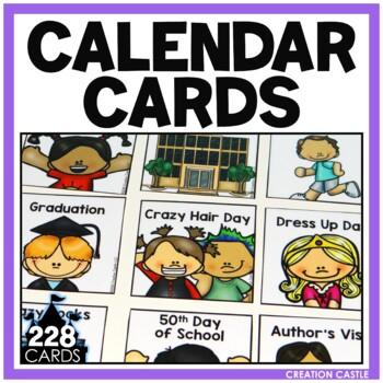 Calendar Cards - Special Days