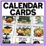 Calendar Cards for Special Days
