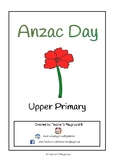 Special Days/Holiday Themed Activity Book - Anzac Day (Upp