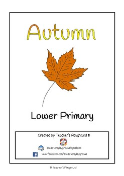 Special Days/Holiday Themed Activity Book - Autumn (Lower Primary)