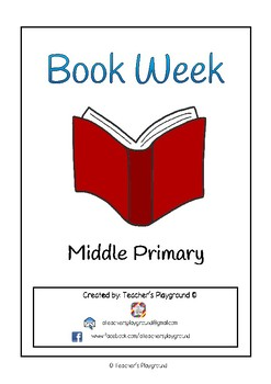 Special Days/Holiday Themed Activity Book - Book Week (Middle Primary)