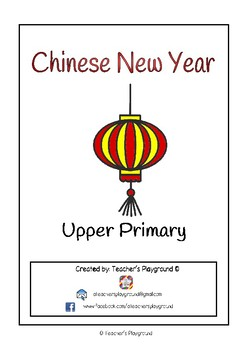 Special Days/Holiday Themed Activity Book - Chinese New Year (Upper Primary)