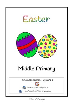 Special Days/Holiday Themed Activity Book - Easter (Middle Primary)