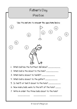 Special Days/Holiday Themed Activity Book - Father's Day (Upper Primary)