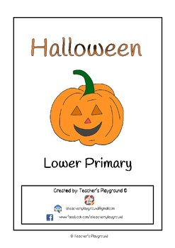 Special Days/Holiday Themed Activity Book - Halloween (Lower Primary)