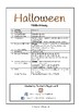 Special Days/Holiday Themed Activity Book - Halloween (Middle Primary)