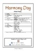 Special Days/Holiday Themed Activity Book -  Harmony Day (Middle Primary)