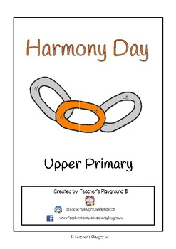 Special Days/Holiday Themed Activity Book - Harmony Day (U