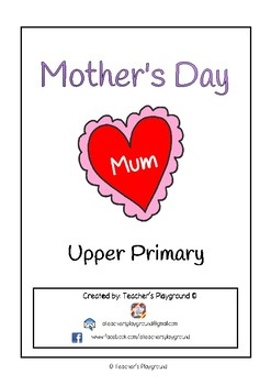 Special Days/Holiday Themed Activity Book - Mother's Day (Upper Primary)
