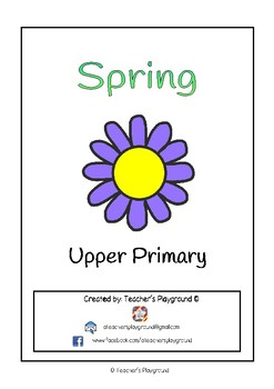 Special Days/Holiday Themed Activity Book - Spring (Upper Primary)