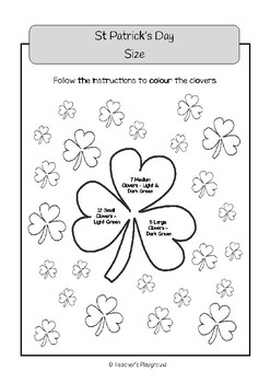 Special Days/Holiday Themed Activity Book - St Patrick's Day (Lower Primary)
