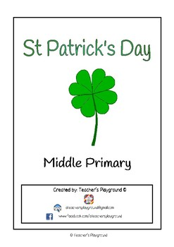 Special Days/Holiday Themed Activity Book -  St Patrick's Day (Middle Primary)