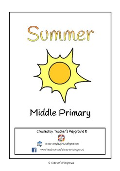 Special Days/Holiday Themed Activity Book - Summer (Middle