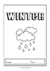 Special Days/Holiday Themed Activity Book - Winter (MiddlePrimary)