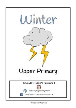 Special Days/Holiday Themed Activity Book - Winter (Upper Primary)