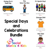 Special Days and Celebrations Bundle (French Black and White)