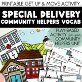 Special Delivery! A Community Helpers Vocabulary Activity