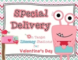 Special Delivery - Literacy Stations for Valentine's Day