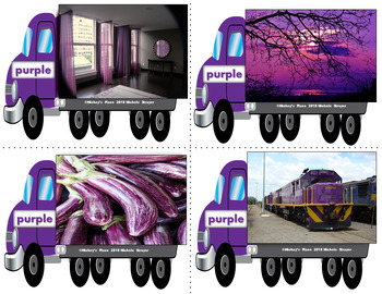Special Delivery Trucks to Houses: Pocket Chart and  Centers