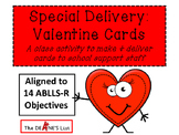Special Delivery Valentine Cards:  A social skills card making activity
