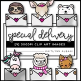 Special Delivery - Valentine's Day Clip Art Images