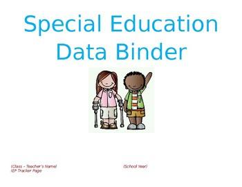 Special ED Data Binder PACK
