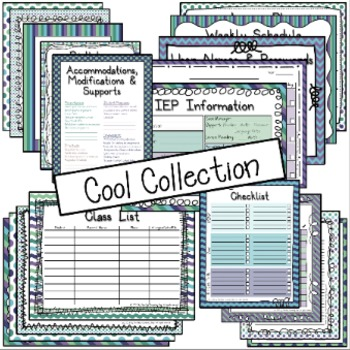 Special Ed. Binder - Warm & Cool Color Combo Bundle