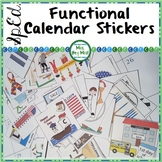 Special Ed Functional Calendar sticker and cut/paste