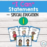 """Special Ed. """"I Can"""" Statement Posters"""